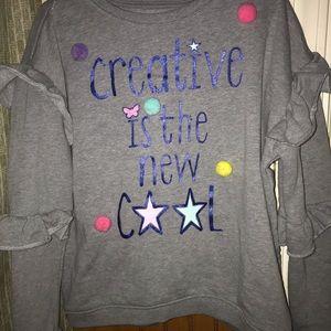 Sz 7 girls garanimals sweatshirt